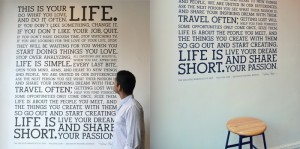 Manifesto Wall Decal