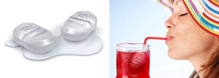 Chill Pill Ice Cube Tray