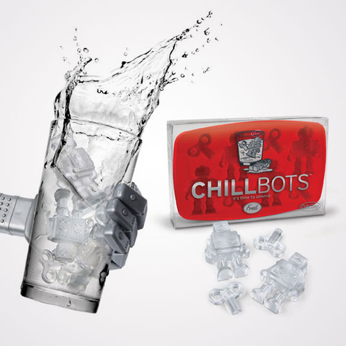 Chillbots Ice Cube Tray