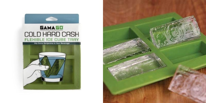 Cold Hard Cash Ice Cube Tray