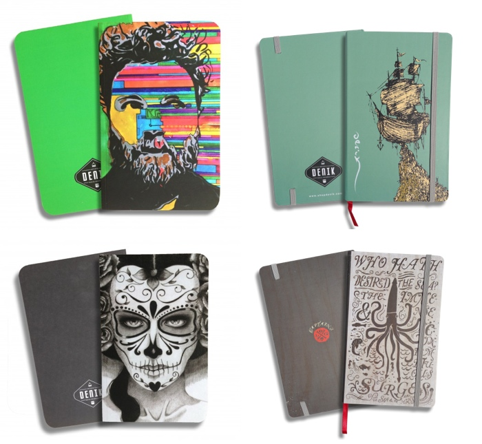 Denik Artist Journals and Notebooks