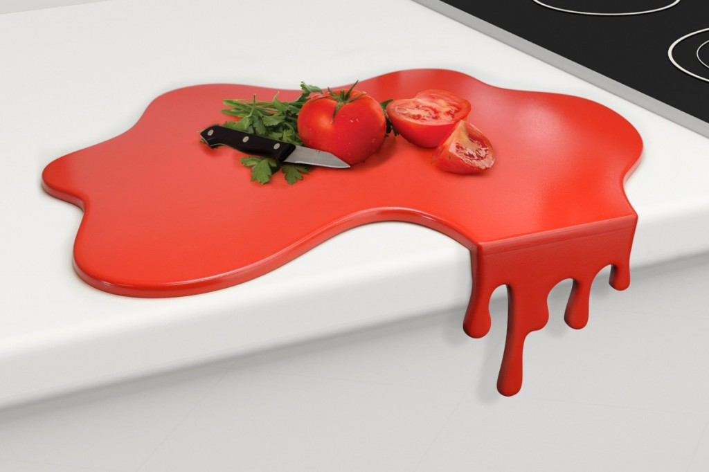 Splash red chopping board 1024x682