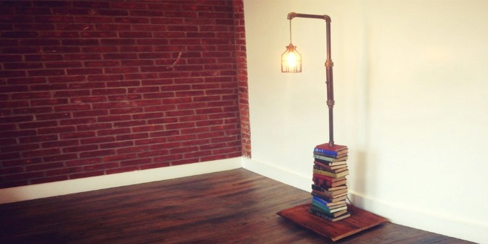Books Lamp