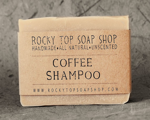Coffee Soap and Shampoo Bar