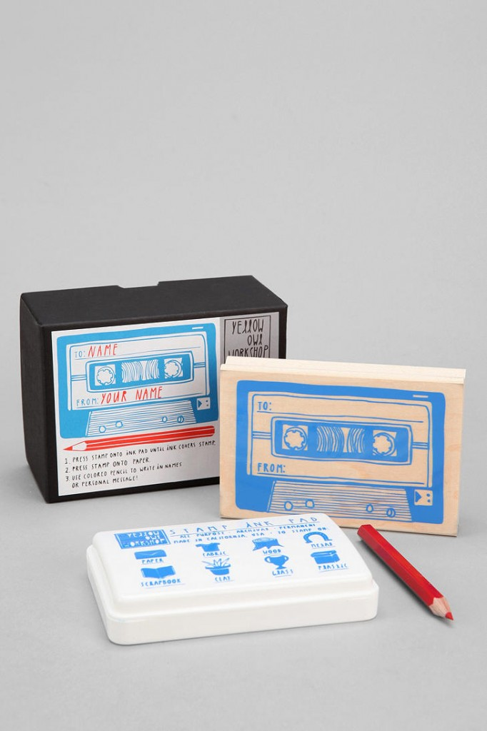 Mix Tape Rubber Stamp