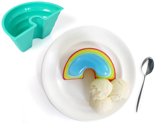Rainbow Jelly Mold