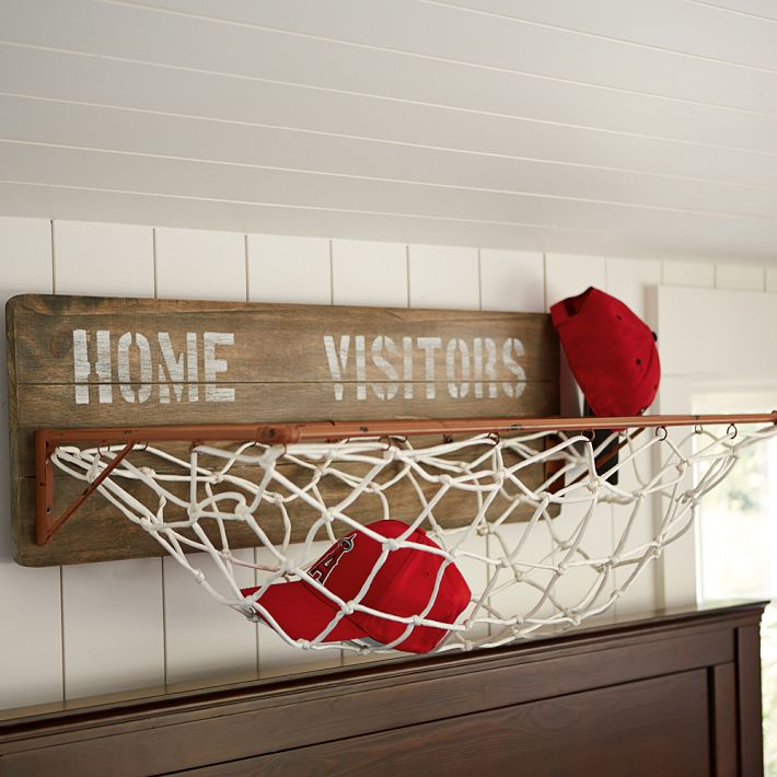 Sports wall organization storage rack for Cool things to buy for your house