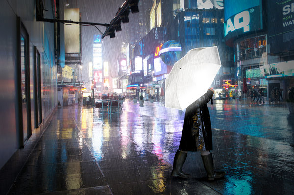 Hi-reflective Umbrella_
