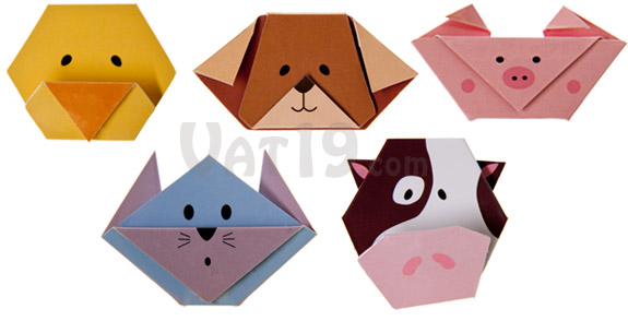 Magnetic Animal Bookmarks-all