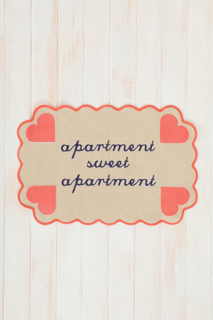 Plum & Bow Apartment Sweet Apartment Mat
