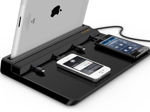 KiDiGi Universal Charging Station for Smartphones & Tablets