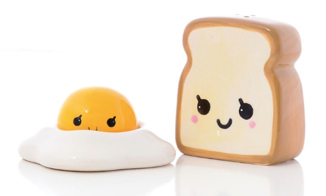 Sunny Side Up Salt and Pepper Shaker