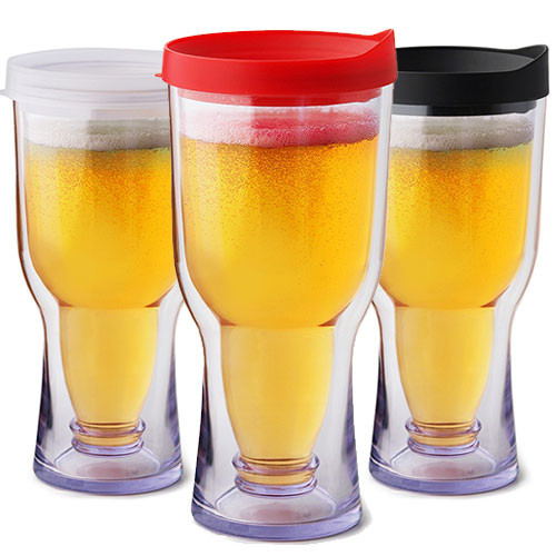 Brew2Go - The Non-Spill Portable Beer Glass