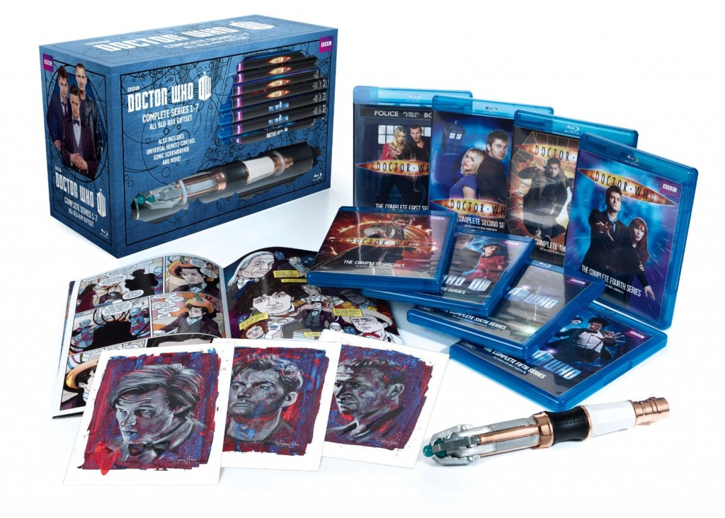 Doctor Who- Series 1-7 Limited Edition Blu-ray Giftset