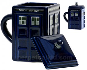 Doctro Who Tardis Mug with Lid