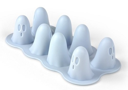 Halloween Boo Ghost Ice Cube Tray and Gelatin Mold