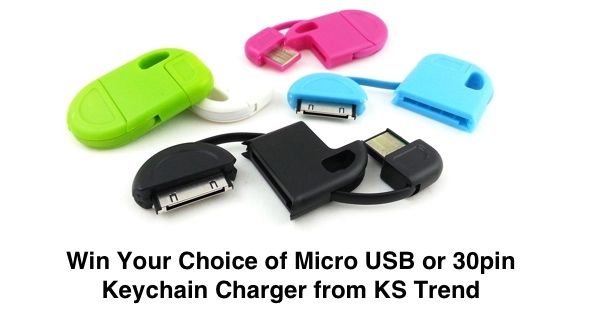 Keychain Charger Giveaway
