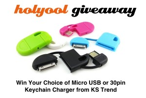 Keychain Chargers Giveaway
