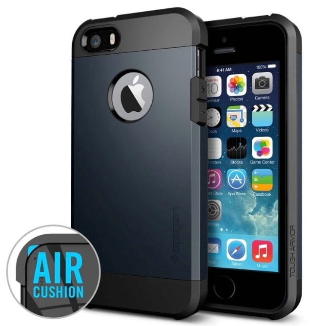 SPIGEN SGP SGP10490 Tough Armor Case for iPhone 5_5S