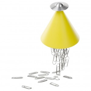 Spettro Magnetic Paper Clip Holder