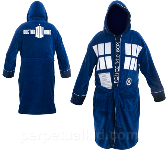 Tardis Bathrobe