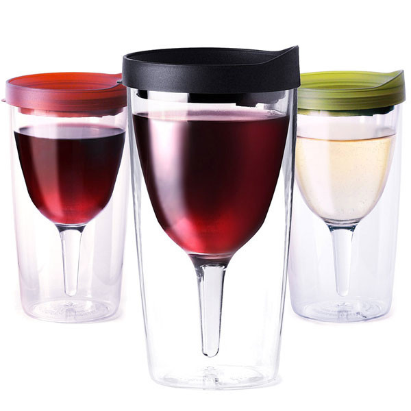 Vino2Go The Portable Wine Glass