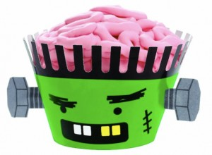 Wilton Frankenstein Baking Cupcake Kit