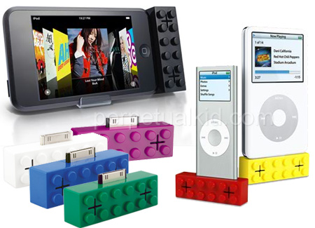 iPod Building Blocks Speakers