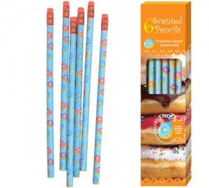 Frosted Donut Scented Pencils