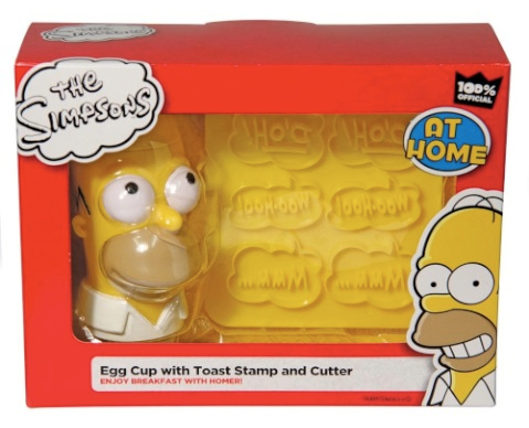 Home Simpson Breakfast Set