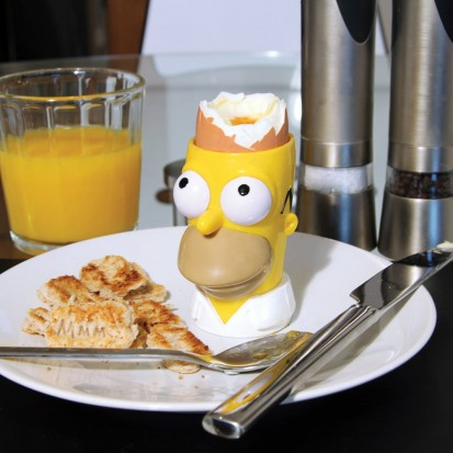Home Simpson Egg and Toast Set