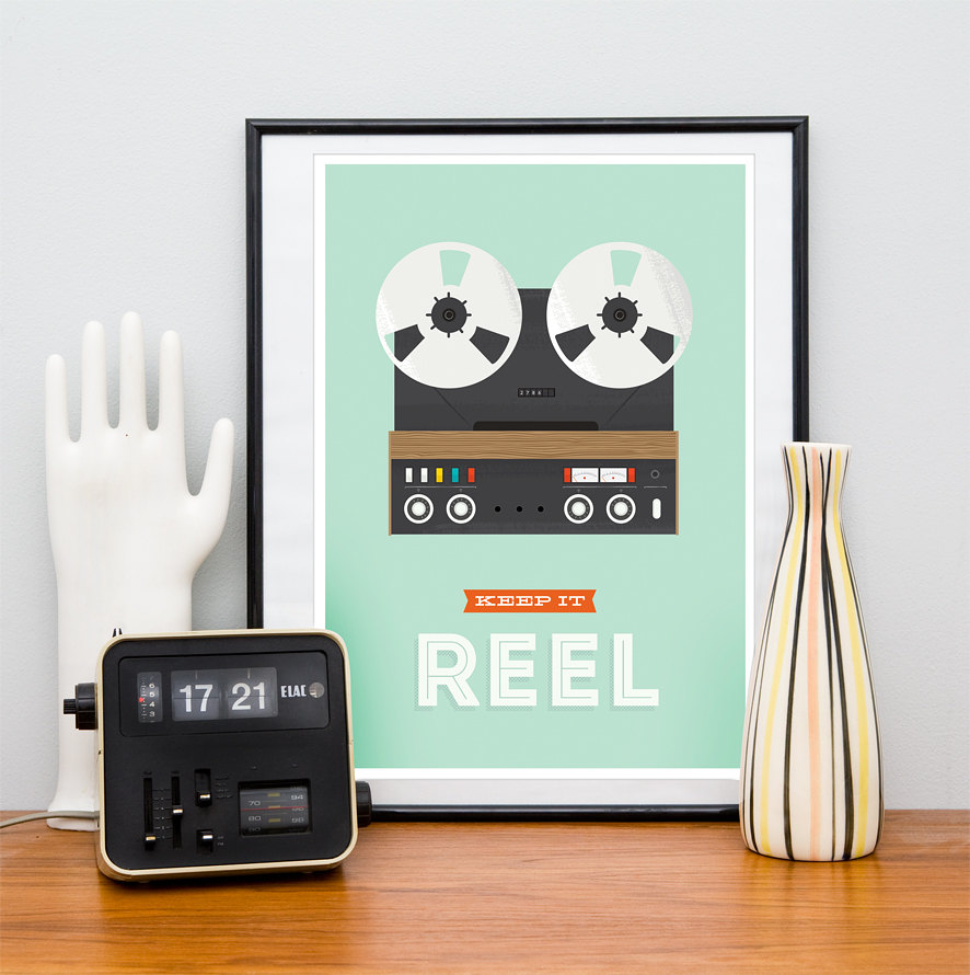 Keep It Reel Print