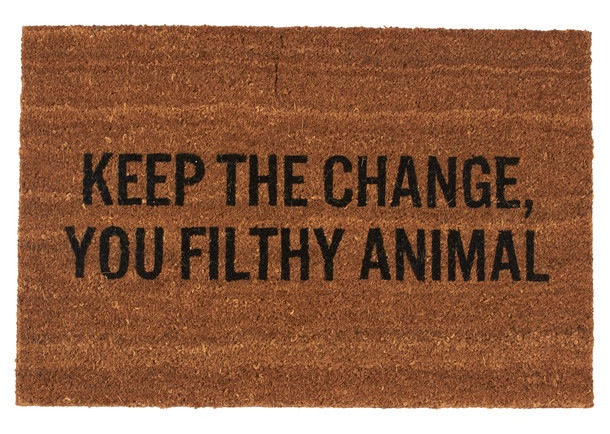 Keep The Change Doormat