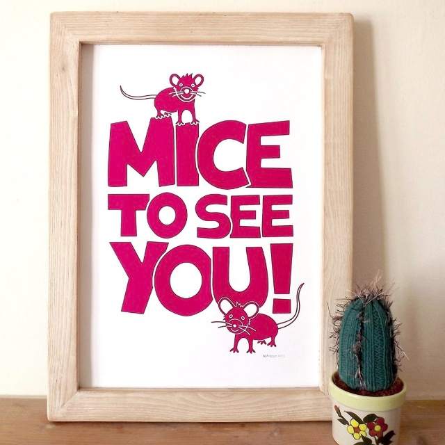 Mice To See You Print