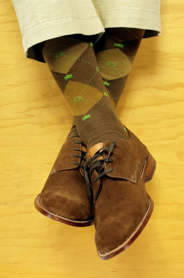 Soxfords_Brown_Space_Invaders_Sock