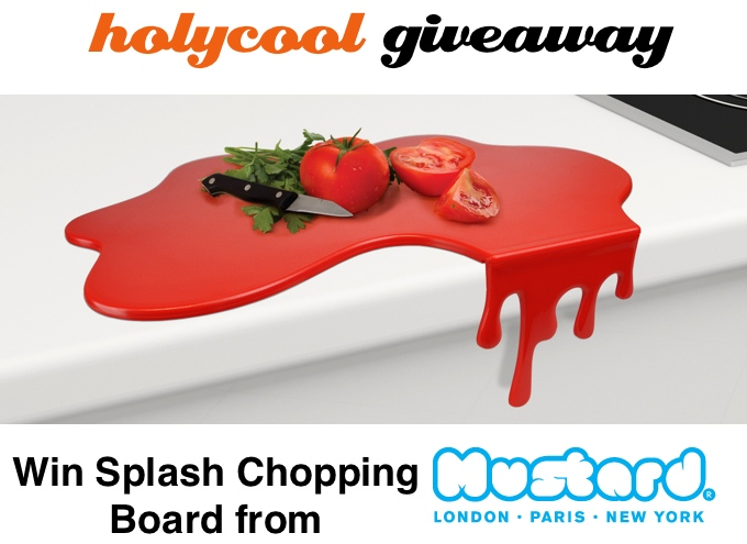 Splash Chopping Board giveaway