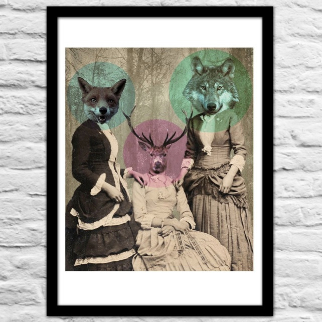 Woodland Walk Art Print