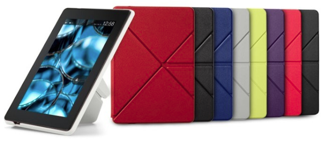 Amazon Kindle Fire HD Standing Polyurethane Origami Case_Colors