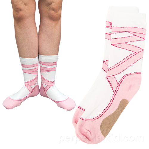 BALLET SHOE SOCKS