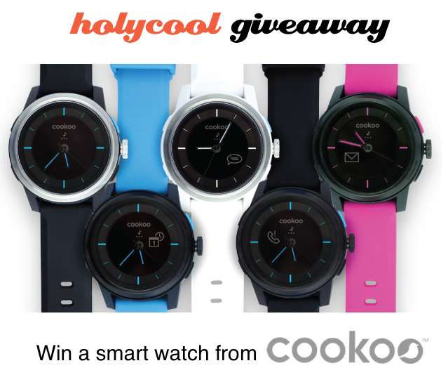 COOKOO Smart Watch Giveaway