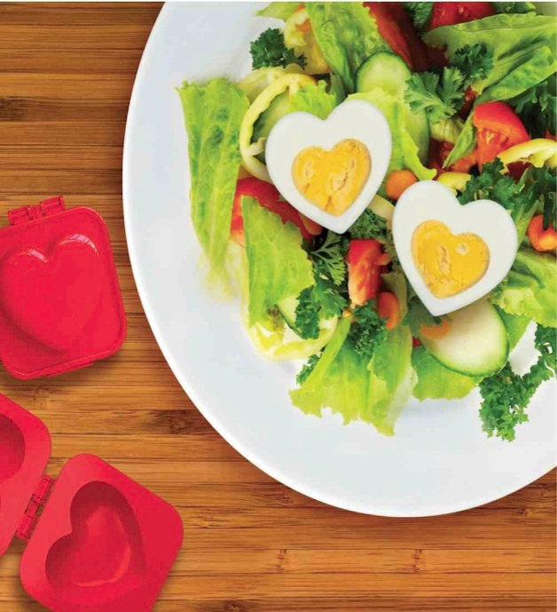 Eggspress Heart Shaped Boiled Egg Mould