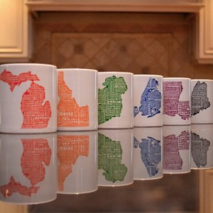 MapMyState Mugs