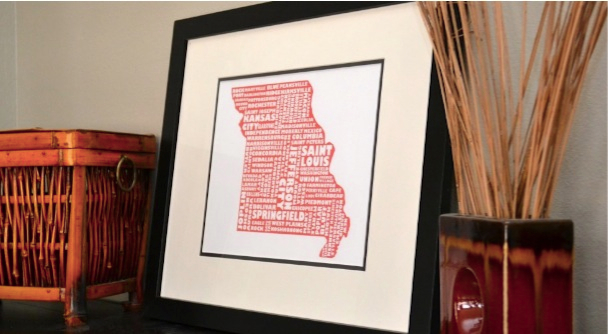 MapMyState Prints
