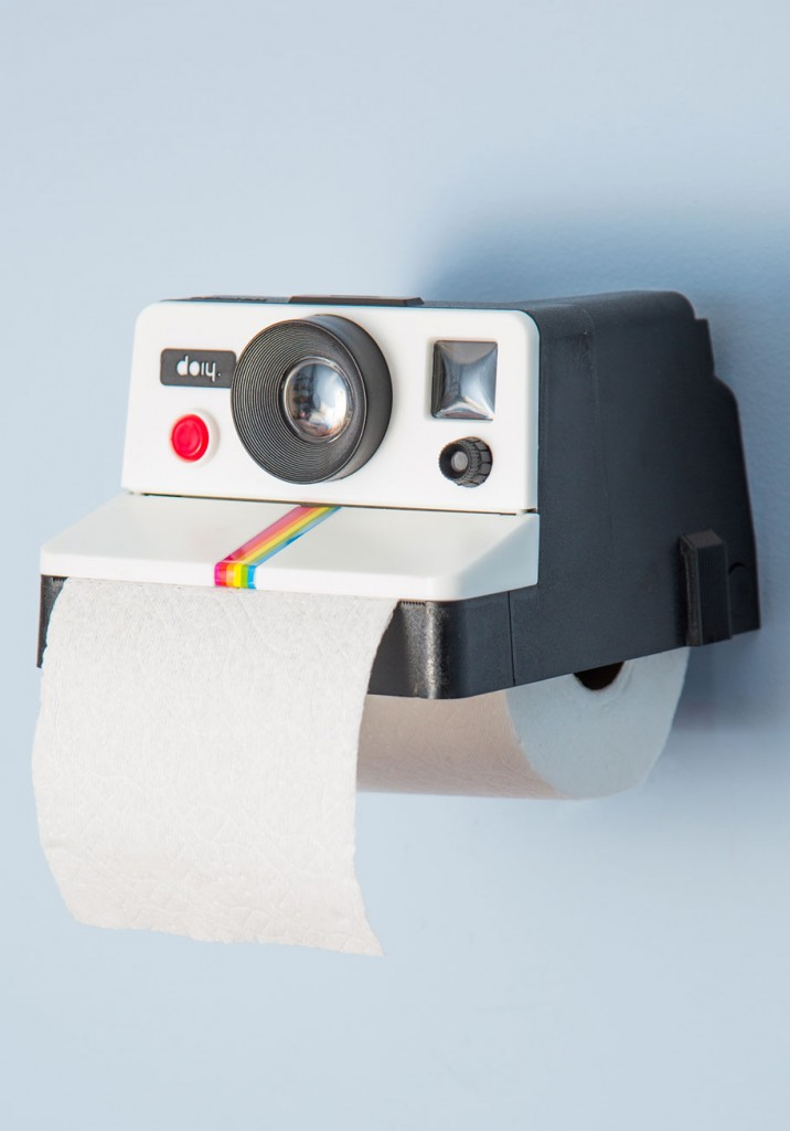 Polaroll polariod toilet paper holder Funny toilet paper holders