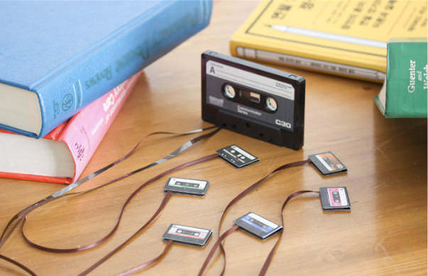 Cassette Tape Bookmark