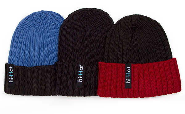 Hi-Hat Knit Hat with Built In Headphones_