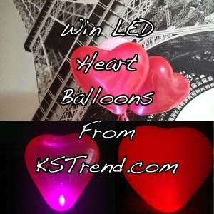 LED Balloons Giveaway