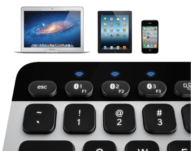 Logitech Bluetooth Easy-Switch K811 Keyboard for Mac, iPad, iPhone
