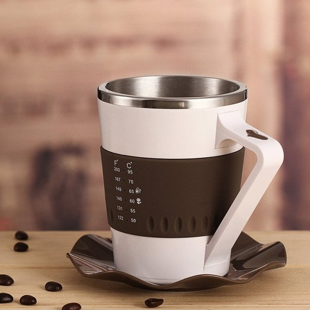 Temperature Display Coffee Mug