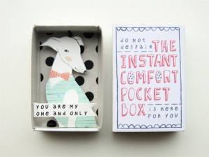 The Instant Comfort Pocket Box - a dog to love